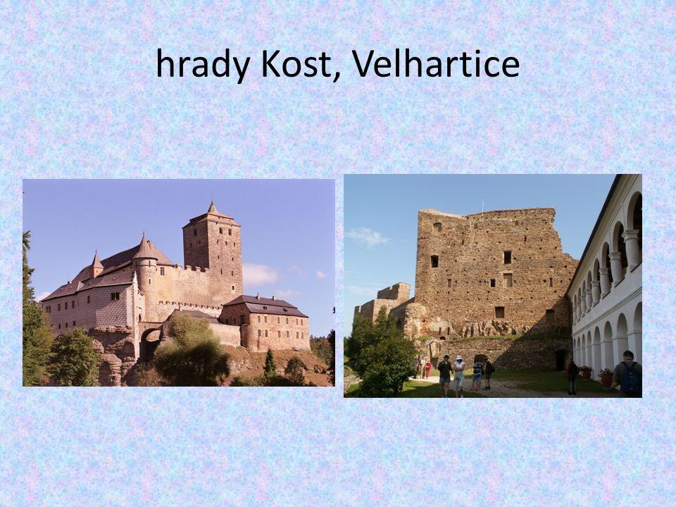 hrady Kost, Velhartice