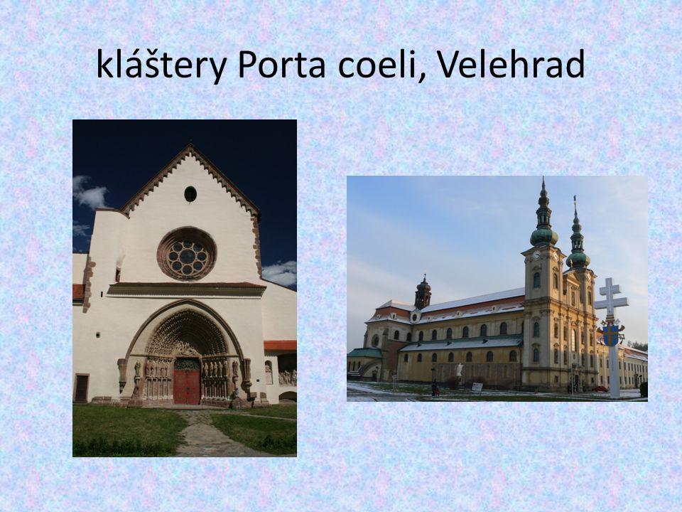 kláštery Porta coeli, Velehrad