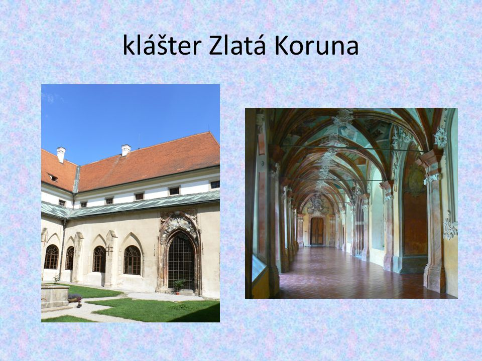 klášter Zlatá Koruna