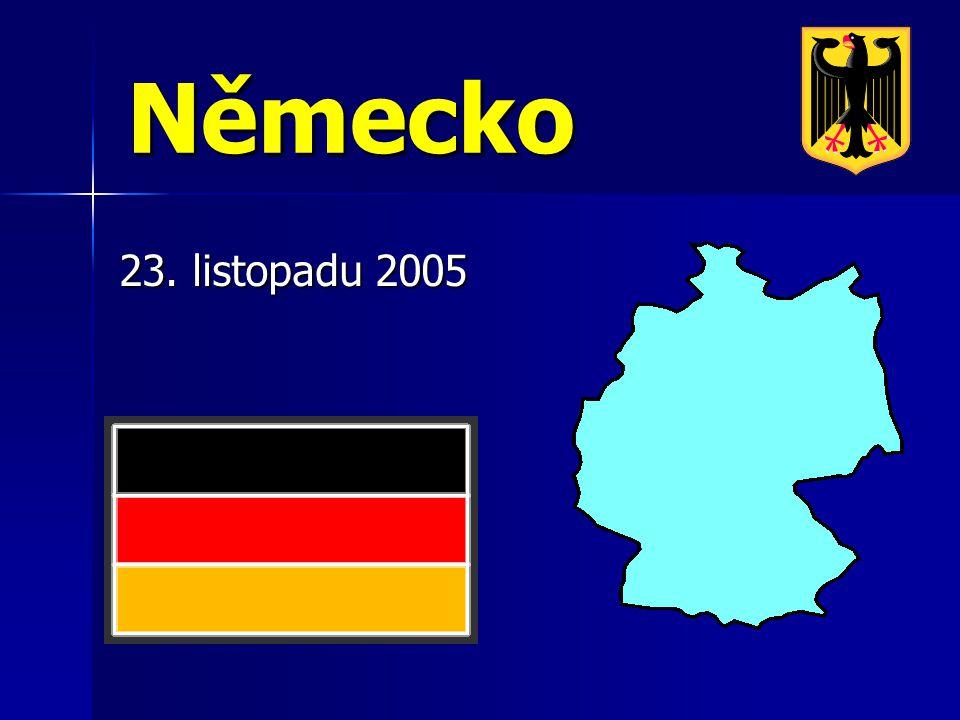 Německo 23. listopadu 2005