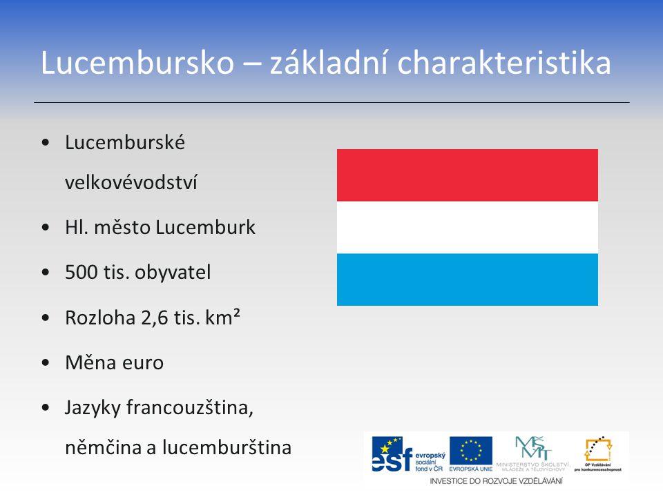 Lucembursko – základní charakteristika