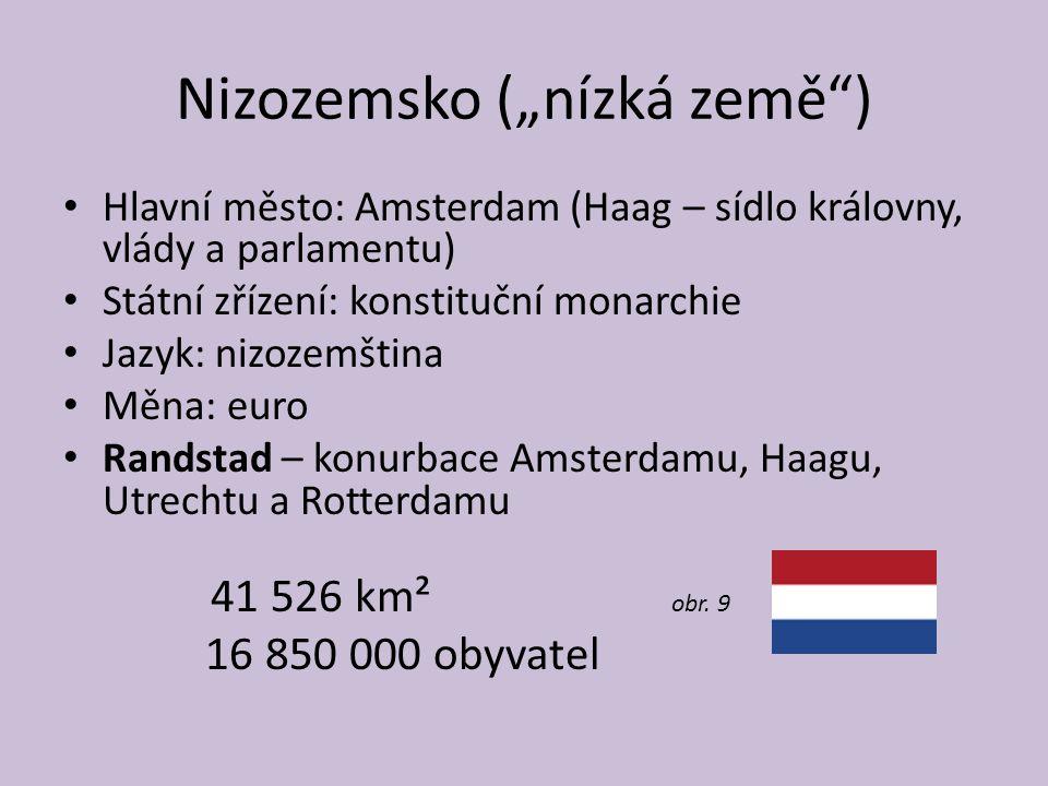 """Nizozemsko (""""nízká země )"""