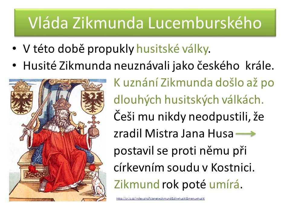 Vláda Zikmunda Lucemburského