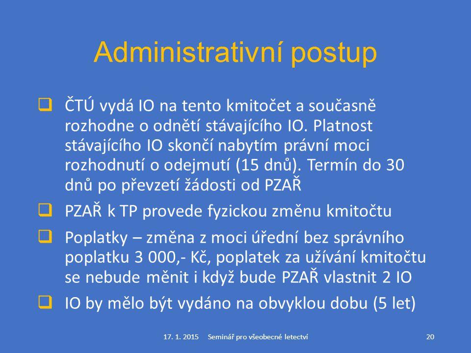 Administrativní postup