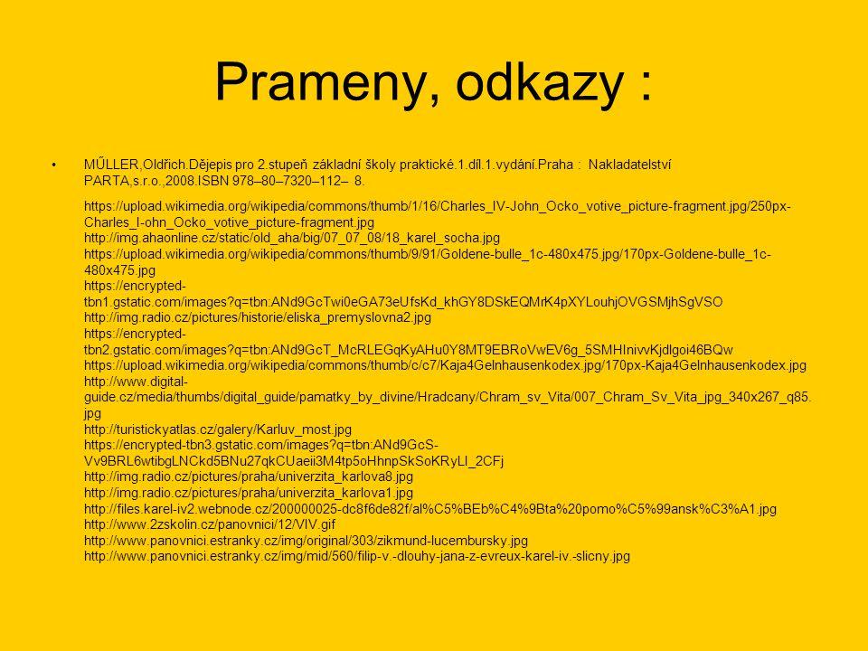 Prameny, odkazy :