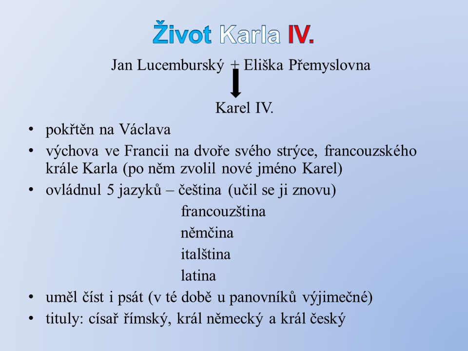 Jan Lucemburský + Eliška Přemyslovna