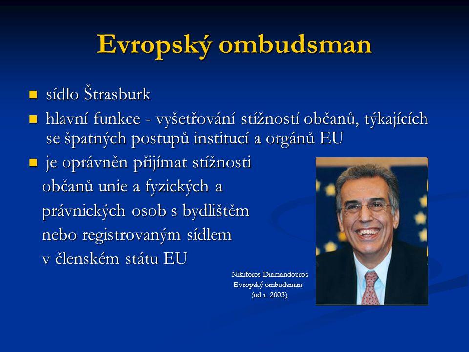 Evropský ombudsman sídlo Štrasburk