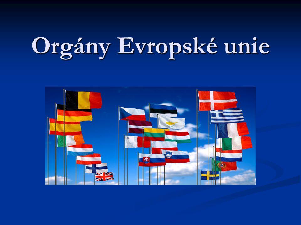 Orgány Evropské unie
