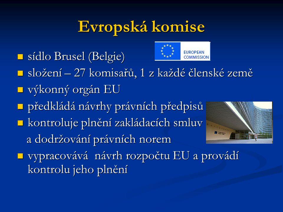 Evropská komise sídlo Brusel (Belgie)