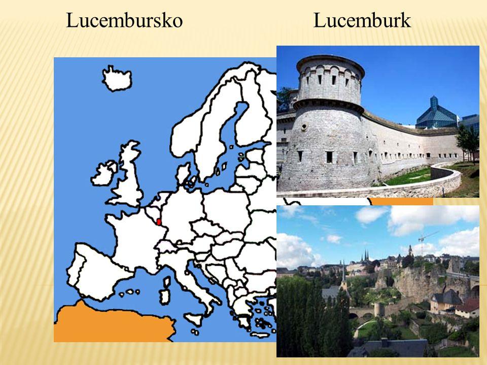 Lucembursko Lucemburk