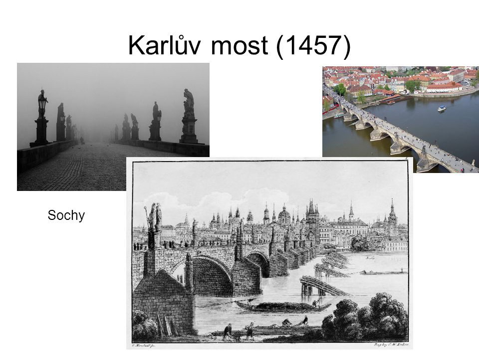 Karlův most (1457) Sochy