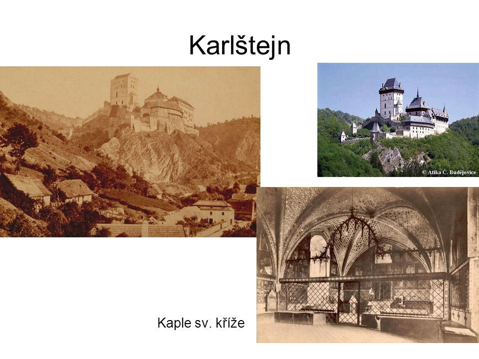 Karlštejn Kaple sv. kříže