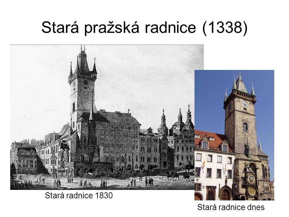 Stará pražská radnice (1338)