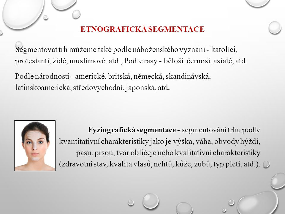Etnografická segmentace