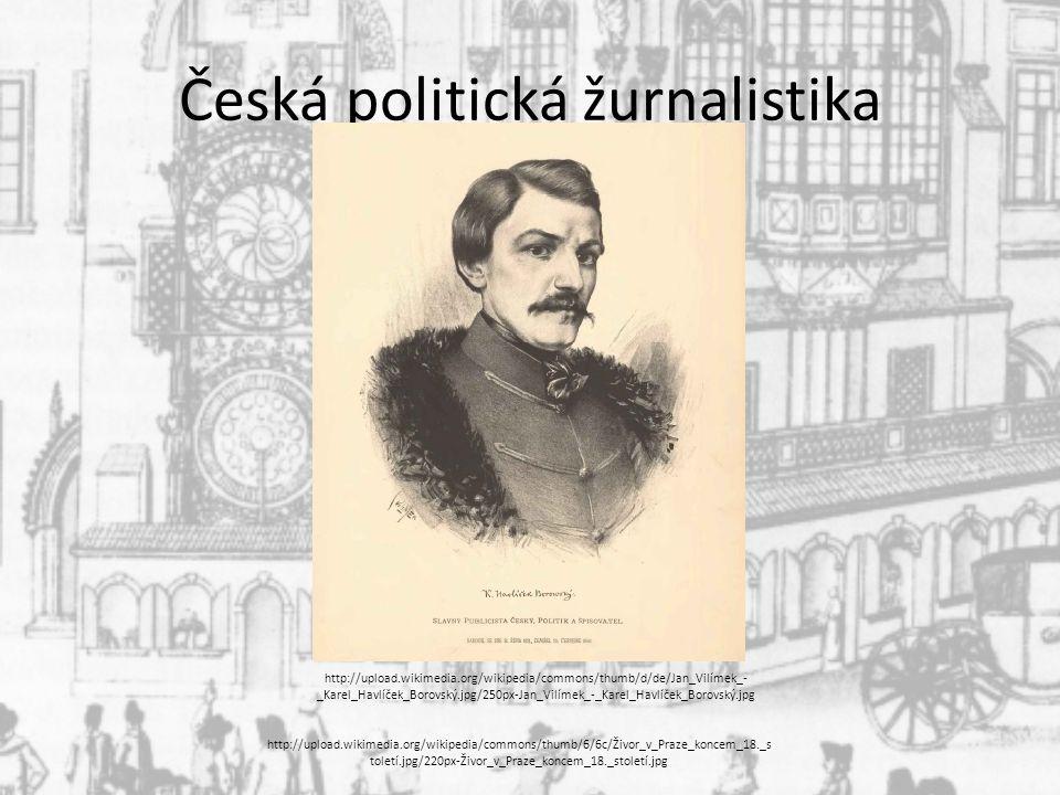 Česká politická žurnalistika