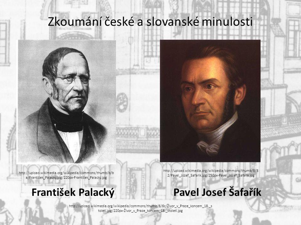 Zkoumání české a slovanské minulosti