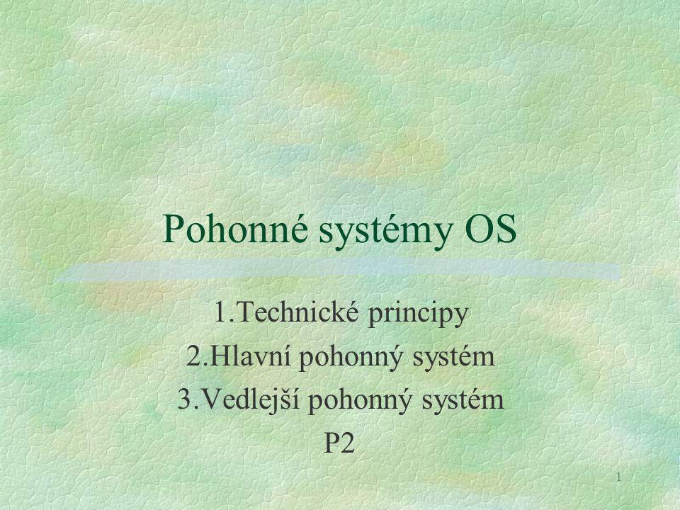 3.Vedlejší pohonný systém
