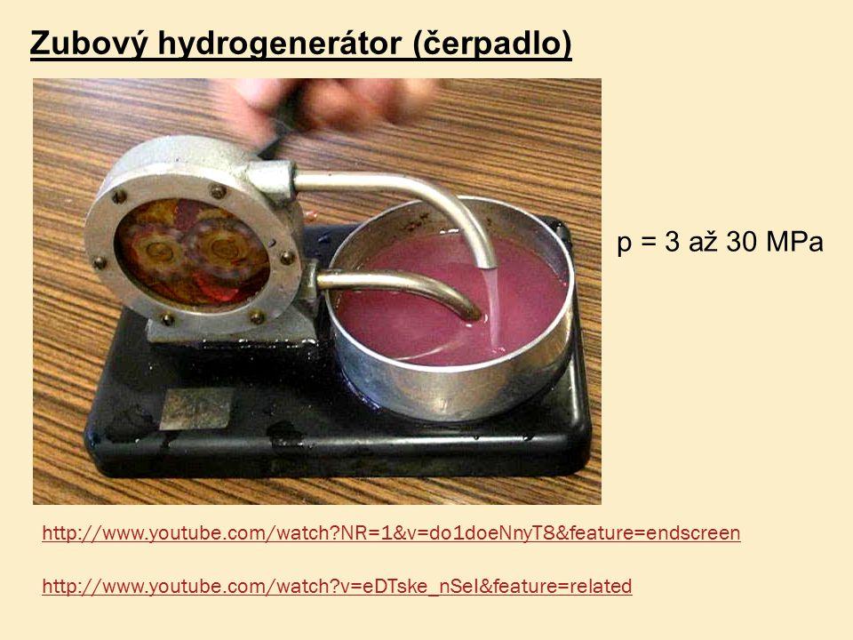 Zubový hydrogenerátor (čerpadlo)
