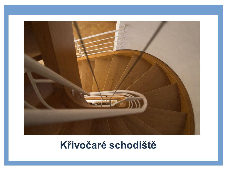 Zdroje Stránka pro uvedení dílčích témat Křivočaré schodiště