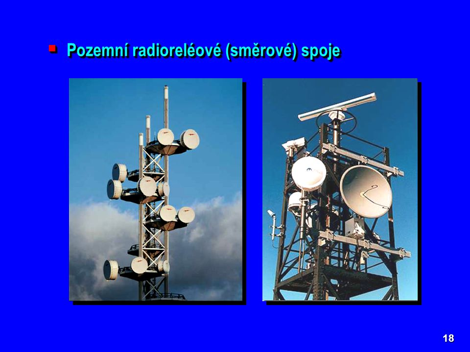 Pozemní radioreléové (směrové) spoje
