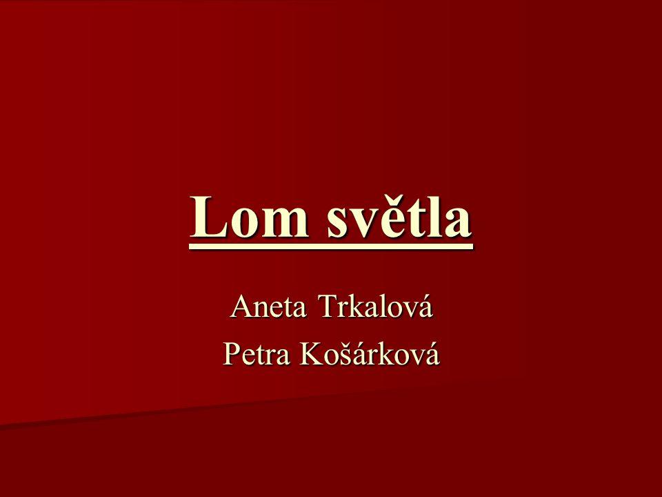Aneta Trkalová Petra Košárková