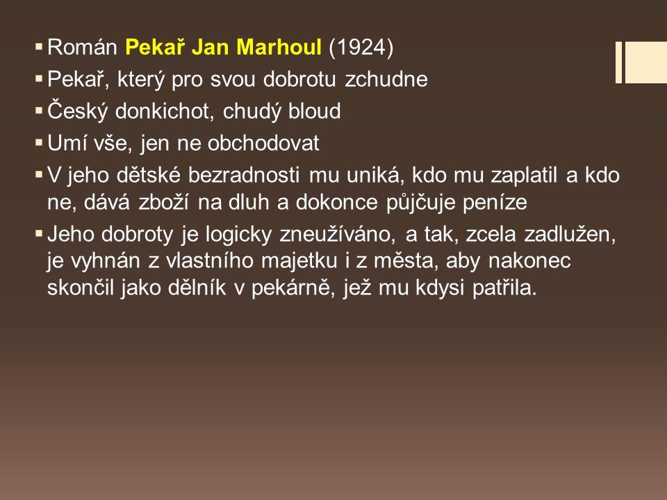 Román Pekař Jan Marhoul (1924)