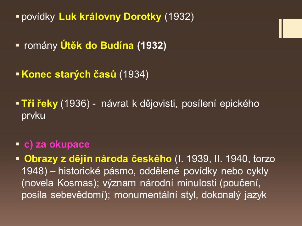 povídky Luk královny Dorotky (1932)
