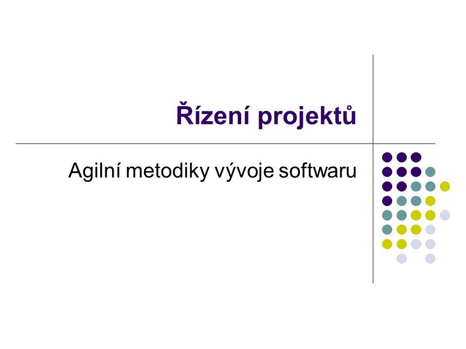 Agilní metodiky vývoje softwaru