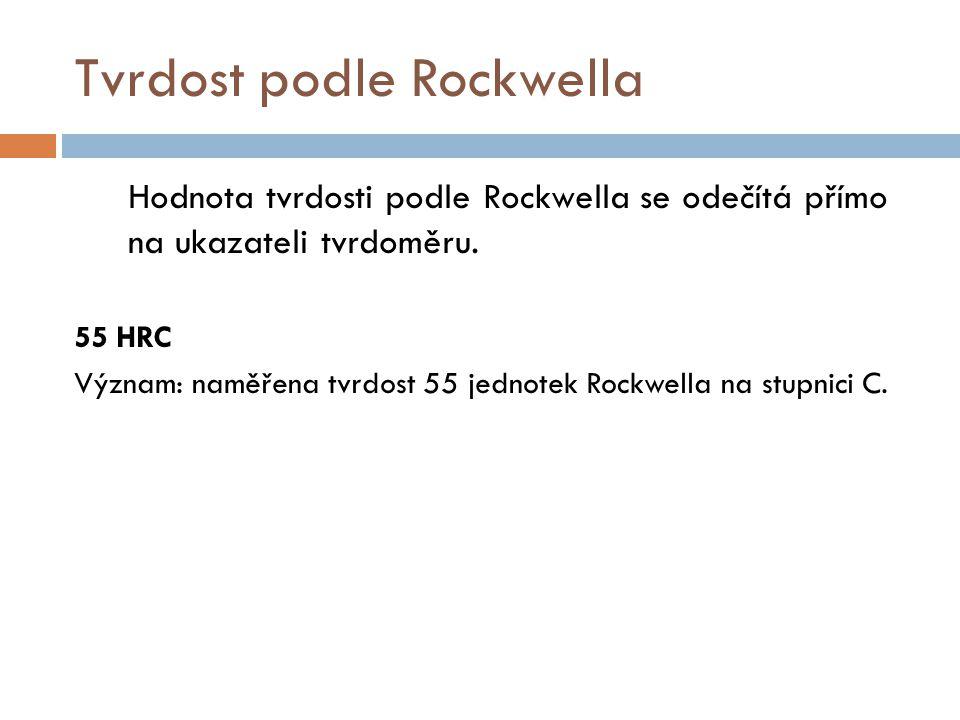 Tvrdost podle Rockwella