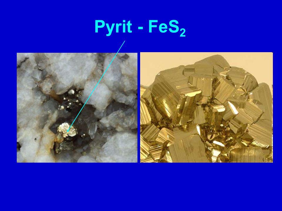 Pyrit - FeS2