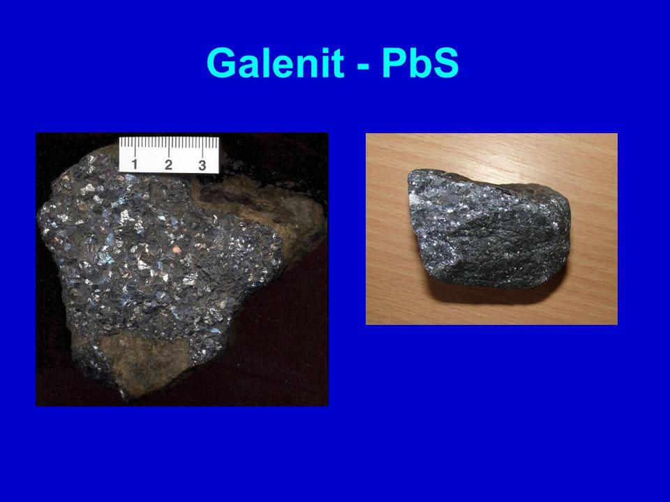 Galenit - PbS