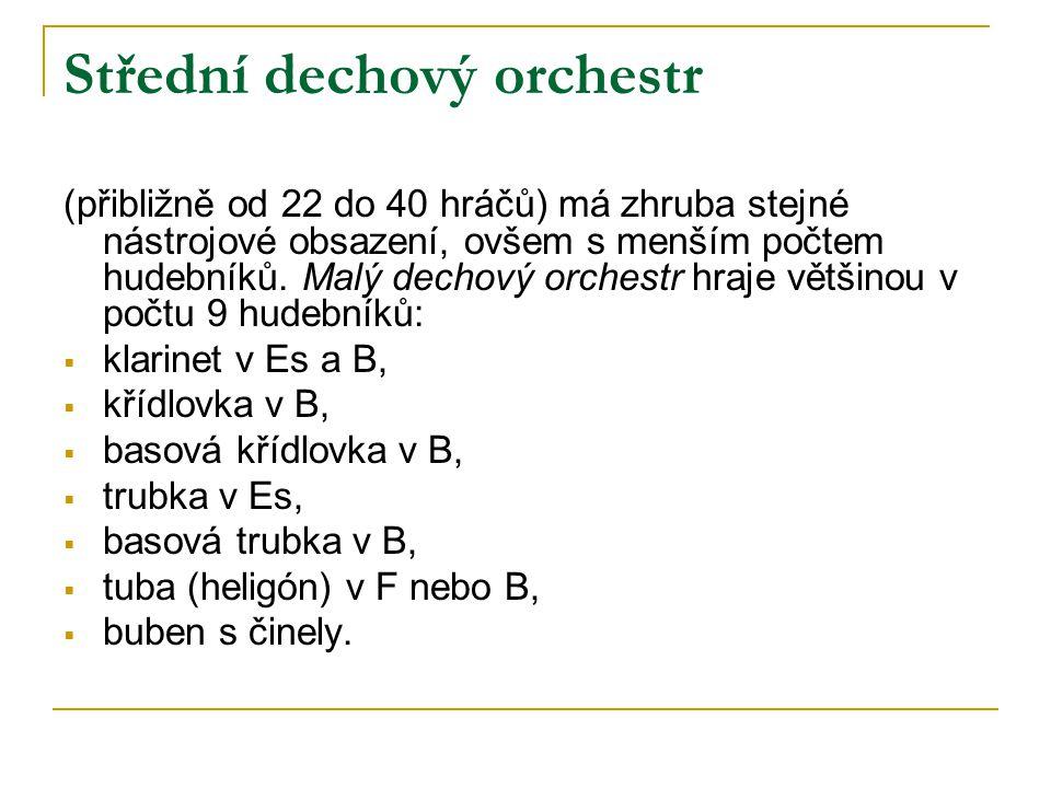 Střední dechový orchestr