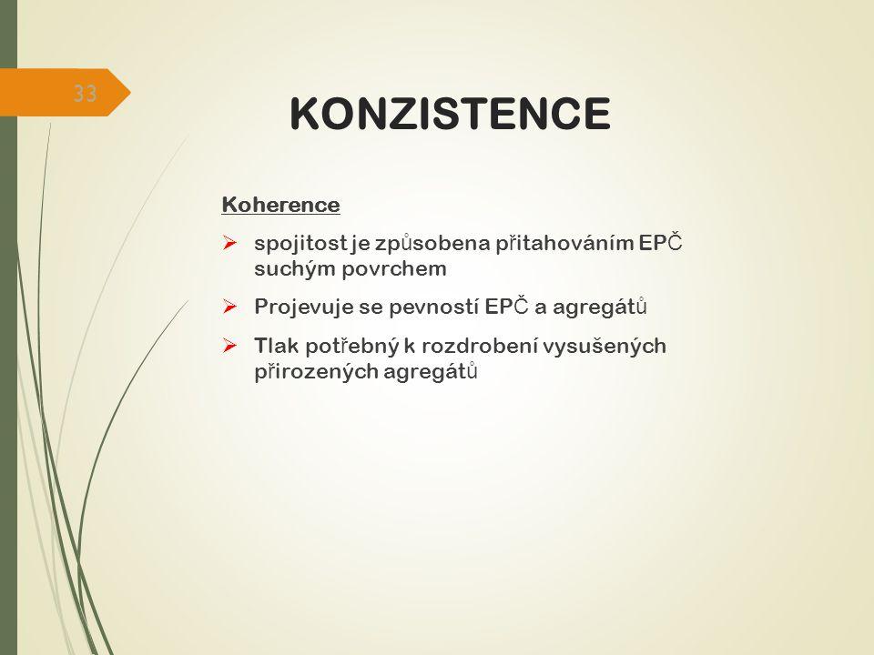 KONZISTENCE Koherence