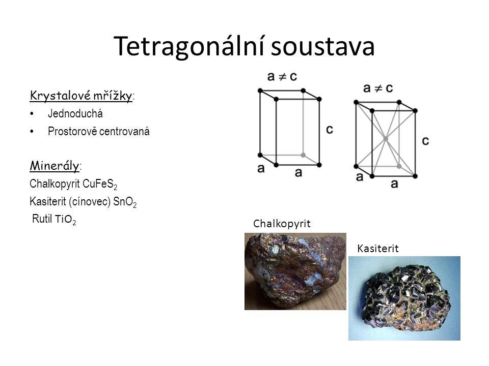 Tetragonální soustava