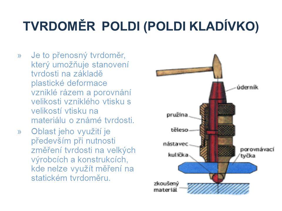 Tvrdoměr Poldi (Poldi kladívko)