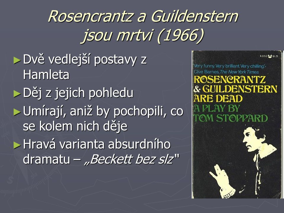 Rosencrantz a Guildenstern jsou mrtvi (1966)