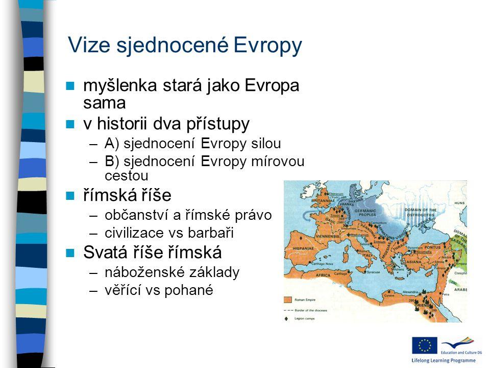 Vize sjednocené Evropy