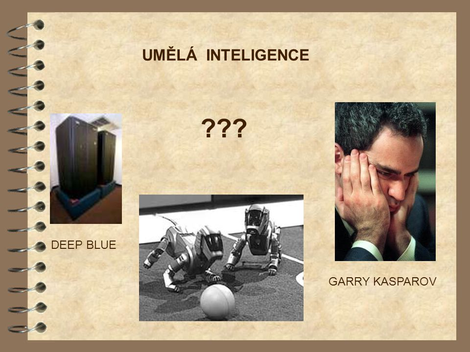 UMĚLÁ INTELIGENCE DEEP BLUE GARRY KASPAROV
