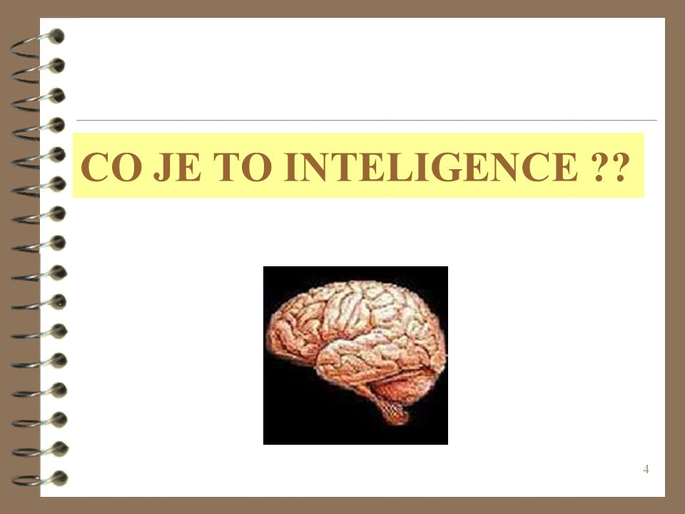 CO JE TO INTELIGENCE (c) 1999. Tralvex Yeap. All Rights Reserved