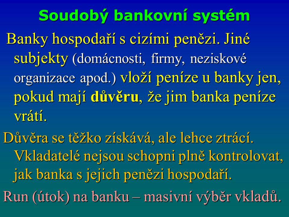Soudobý bankovní systém