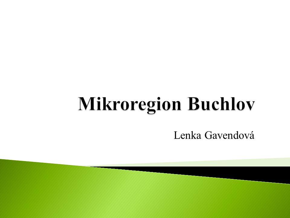 Mikroregion Buchlov Lenka Gavendová