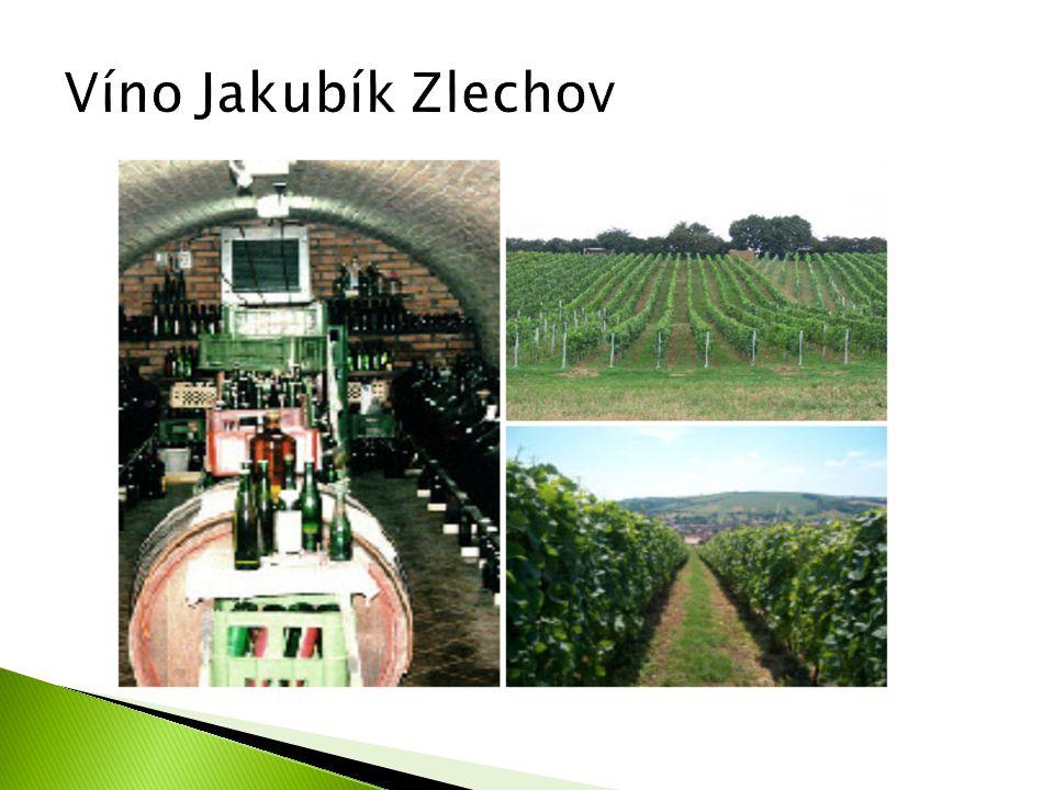 Víno Jakubík Zlechov