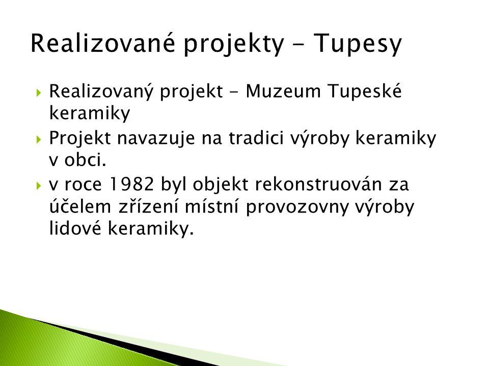 Realizované projekty - Tupesy