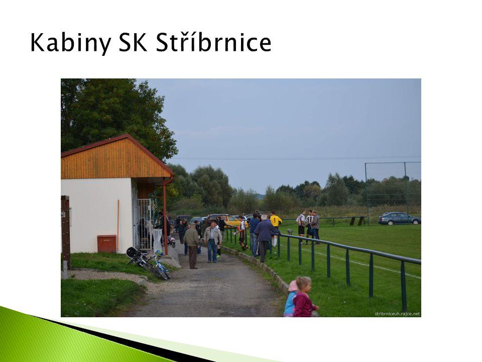 Kabiny SK Stříbrnice