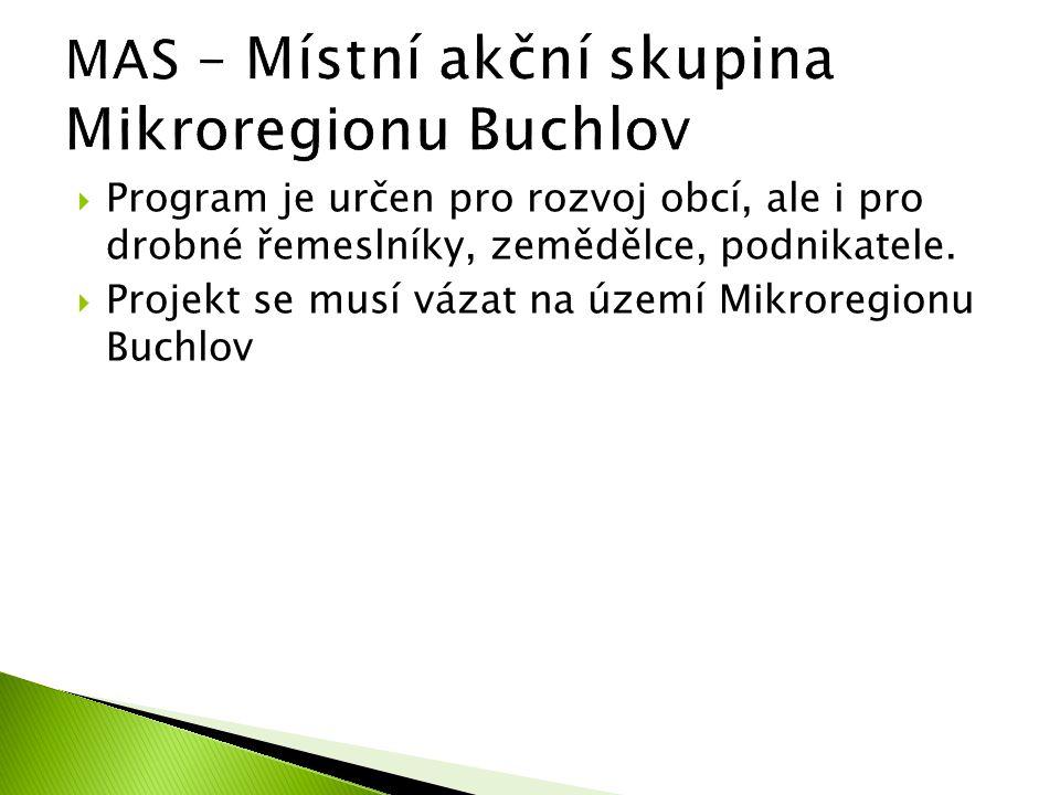 MAS – Místní akční skupina Mikroregionu Buchlov
