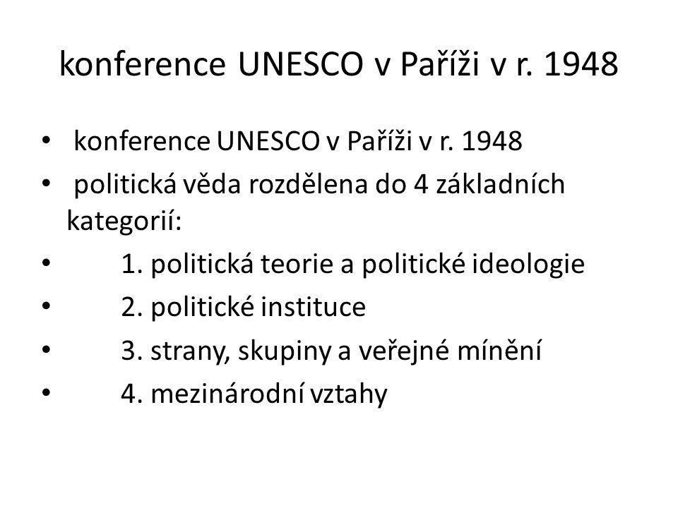 konference UNESCO v Paříži v r. 1948