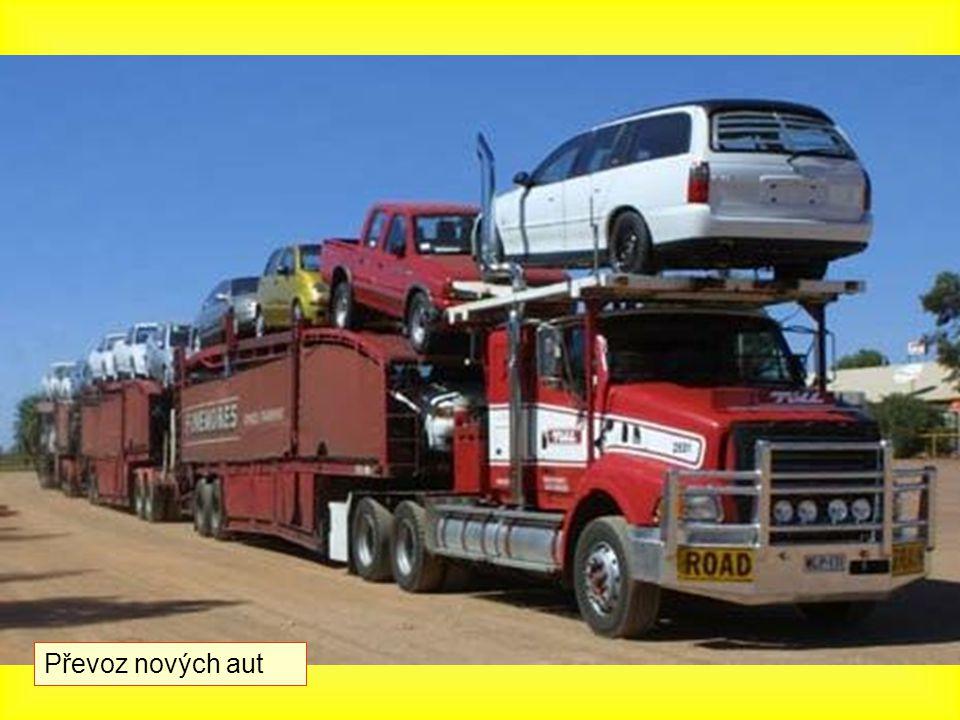 Převoz nových aut