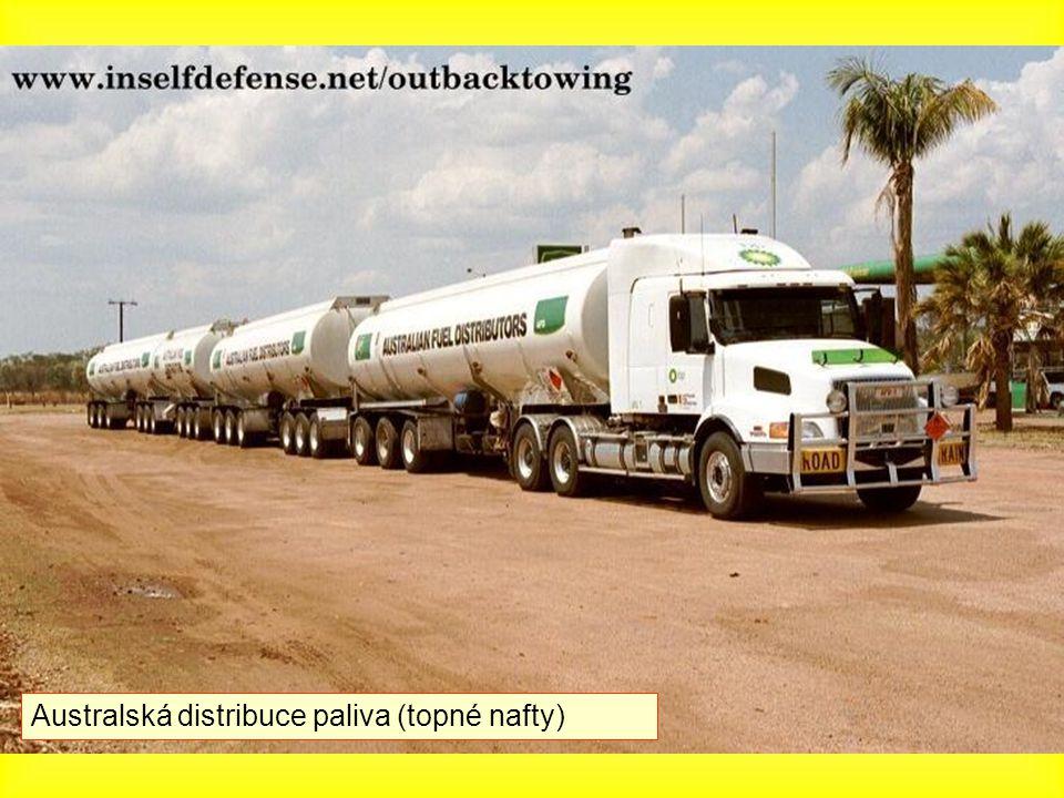 Australská distribuce paliva (topné nafty)