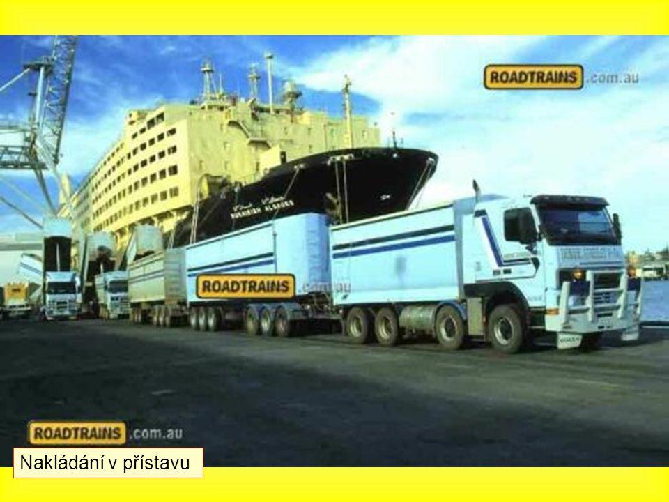 Nakládání v přístavu