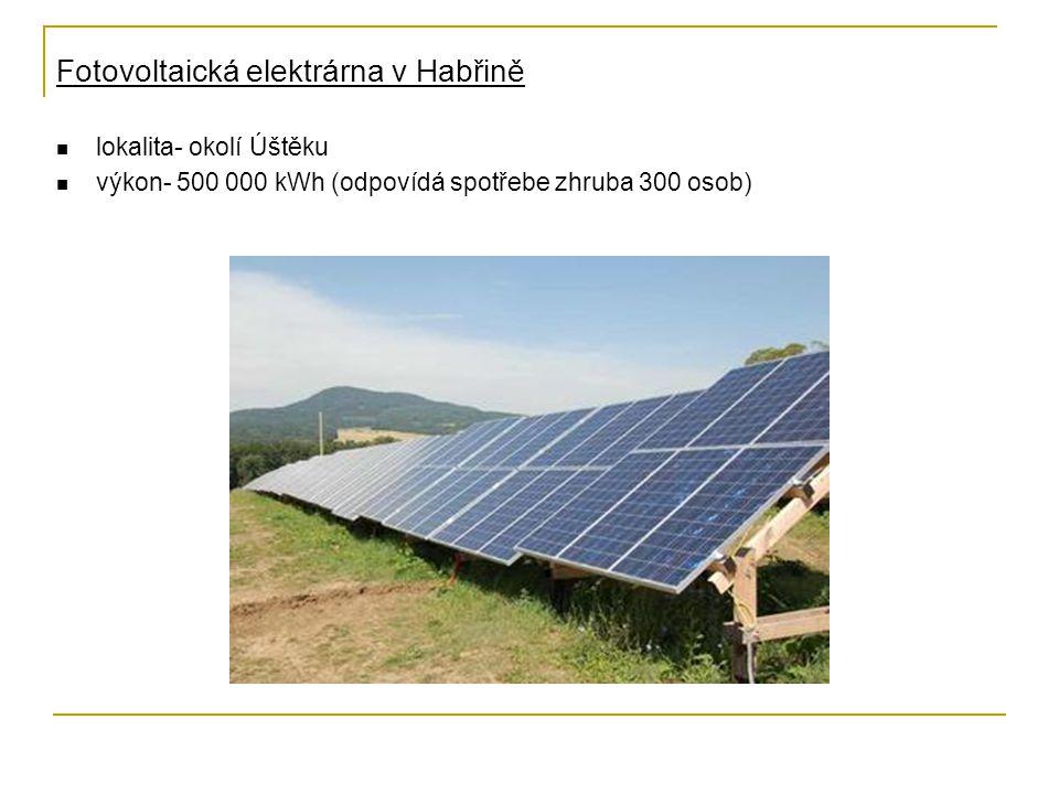 Fotovoltaická elektrárna v Habřině